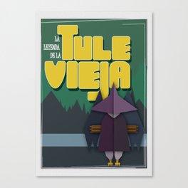 The legend of Tule Vieja Canvas Print