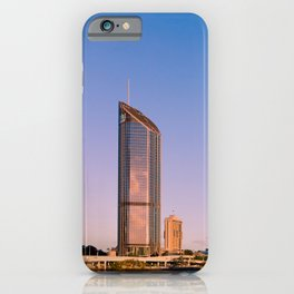 Golden Hour at South Bank iPhone Case
