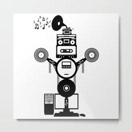 MusicBot Metal Print