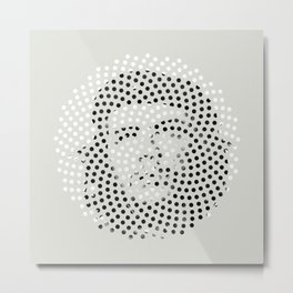 Optical Illusions - Iconical People 5 Metal Print