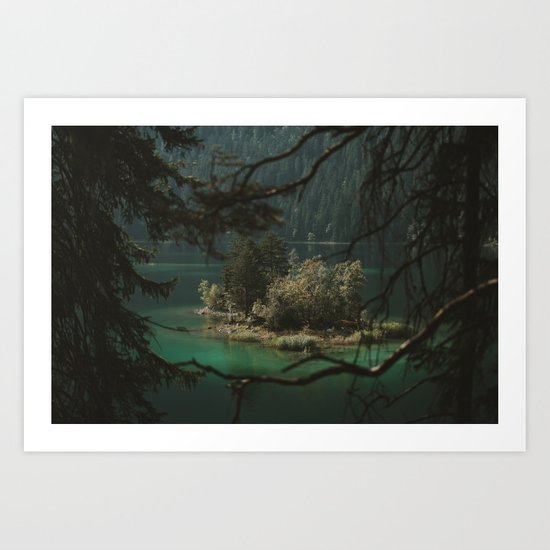 Framed by Nature - Landscape Photography Art Print