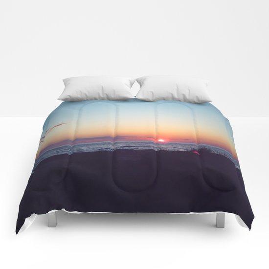 Fantasy Sunset Comforters