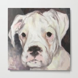 maisy - oil on canvas Metal Print