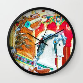 Prance Wall Clock