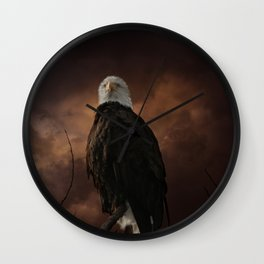 Mighty and Proud Wall Clock
