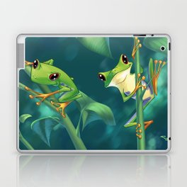 I Love Being Green! Laptop & iPad Skin