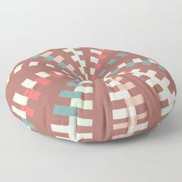 Dashed vortex Floor Pillow