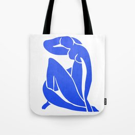 BLUE MATISSE CUT OUT Tote Bag