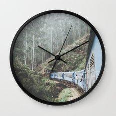 Sri Lanka IV Wall Clock