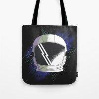 cosmos Tote Bags featuring COSMOS by Fernanda Schallen