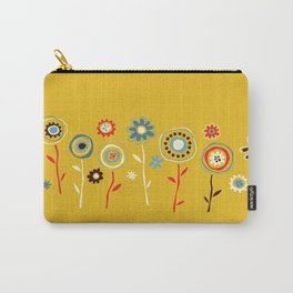 doodle flowers Carry-All Pouch
