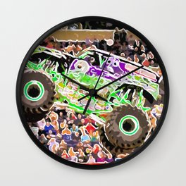 Monster Jam Orlando FL Wall Clock