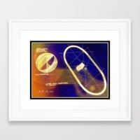 magneto Framed Art Prints featuring Magneto by AJ Art