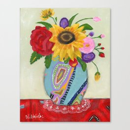 """""""Flowers for Frida 2"""" Canvas Print"""