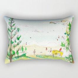 Rainbow Bay, Qld. Australia Rectangular Pillow