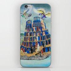 Walking the Tower of Babylon iPhone & iPod Skin