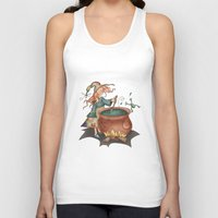 witch Tank Tops featuring Witch by Catru