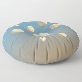 Bubbles & Cream Floor Pillow