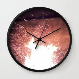 fire fairies Wall Clock