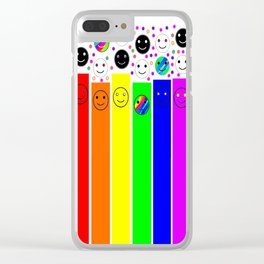Humanity 03 Clear iPhone Case