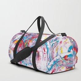 Rainbow Flow Duffle Bag