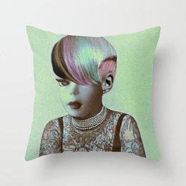 BARBIE ILLUSTRATED Throw Pillow
