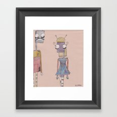 bot love. Framed Art Print