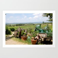 The Wine Salesman Art Print
