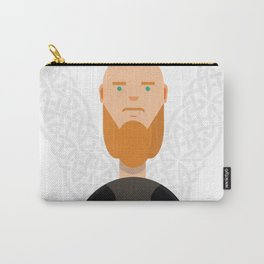 Earl Ragnar Lodbrok-Vikings Carry-All Pouch