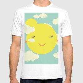 sunshine in clouds T-shirt
