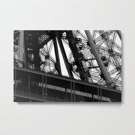 The Eiffel Tower Metal Print