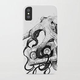 Old MixTapes Never Die iPhone Case
