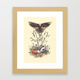 Eternal Sleep Framed Art Print