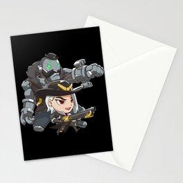 Ashe and bob cute spray Stationery Cards