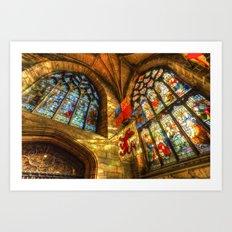 St Giles Cathedral Edinburgh Art Print