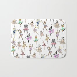Animal Ballet Hipsters LV Bath Mat