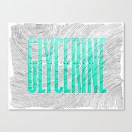 Glycerine Canvas Print