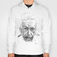 einstein Hoodies featuring Einstein by Les Joanneries & Jacques Lajeunesse