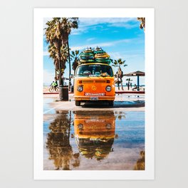 California #society6 #decor #buyart Art Print