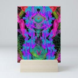 Jellyfish Warp Mini Art Print