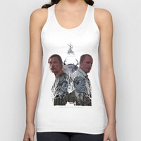 true detective Tank Tops featuring True Detective by TidyDesigns