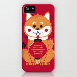 Happy Dog Year iPhone Case
