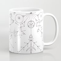 constellations Mugs featuring Constellations by Astro Nascha