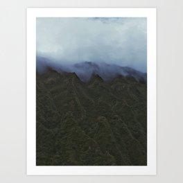 Mysterious Fog Art Print