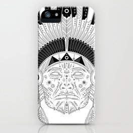 Snapped Up Market - Cowboys & Indians iPhone Case