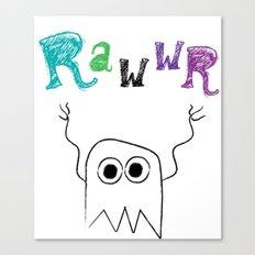 Rawwr Canvas Print
