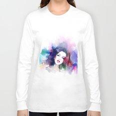 Beauty colored girl Long Sleeve T-shirt