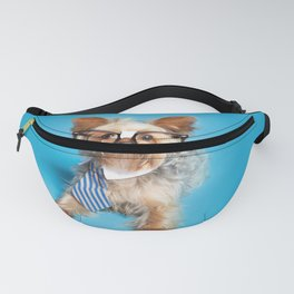 Smart Yorkie Fanny Pack