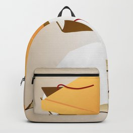 Books with background Backpack