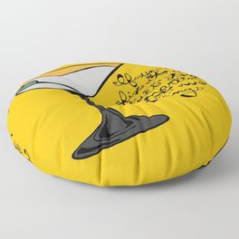 Duct Tape or A Martini Floor Pillow